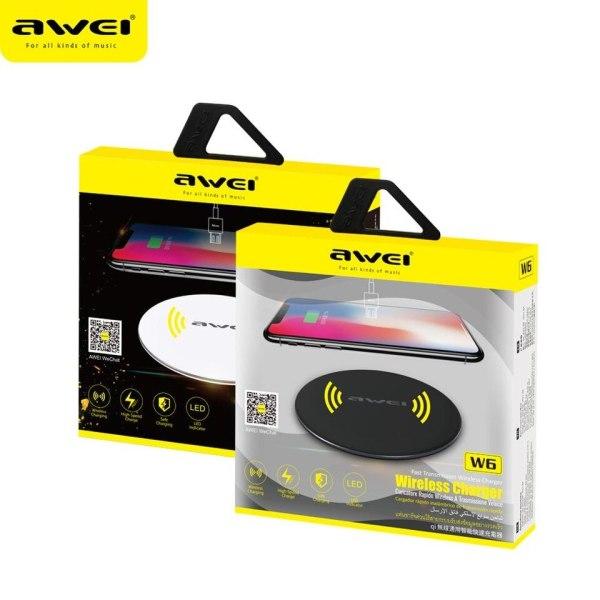 Беспроводное зарядное устройство Awei W6