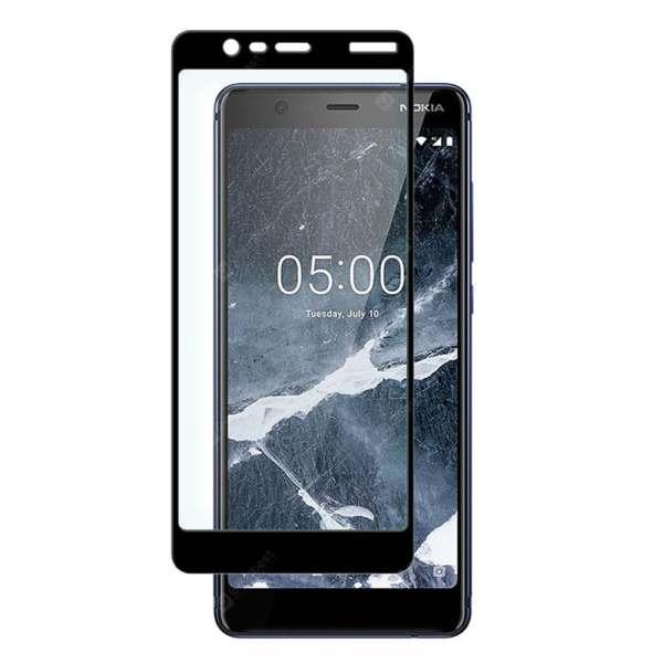 Защитное стекло 5D Full Glue для Nokia 5.1