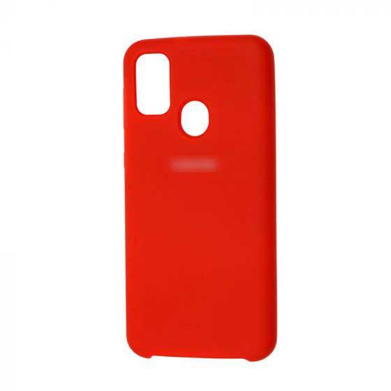 Накладка Soft Touch для Samsung Galaxy M30S / M21 красный