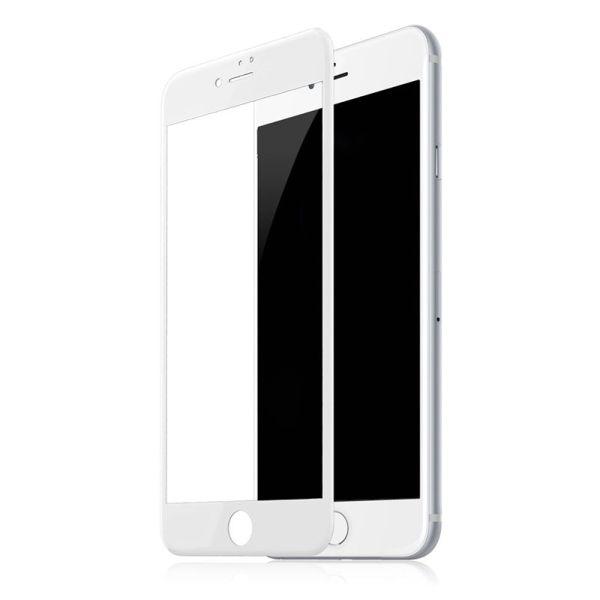 Защитное стекло Full Glue 5D Premium для iPhone 6   6s белое