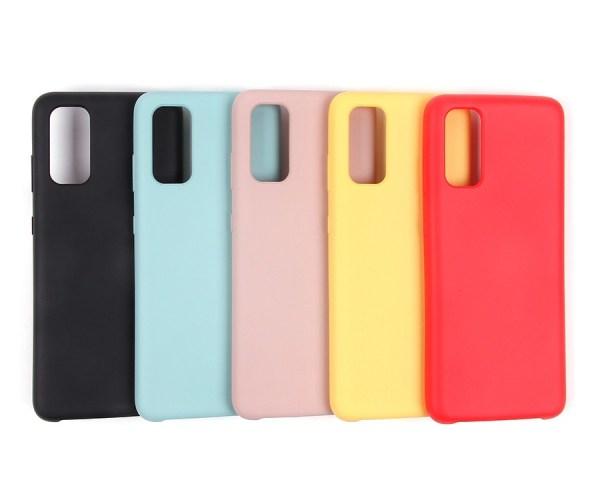 Чехол Silicone cover для Samsung Galaxy A52