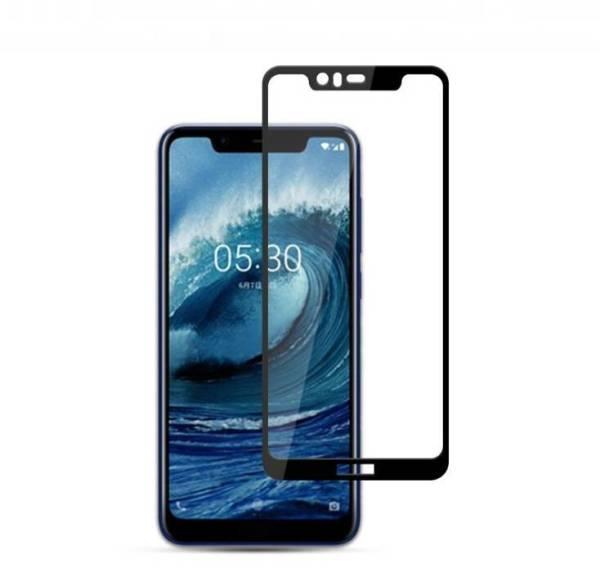 Защитное стекло 5D Full Glue для Nokia 5.1 Plus