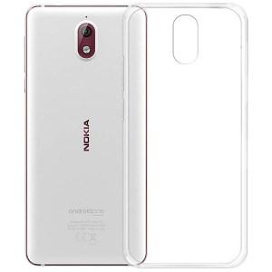 Чехол силиконовый прозрачный для Nokia 3.1