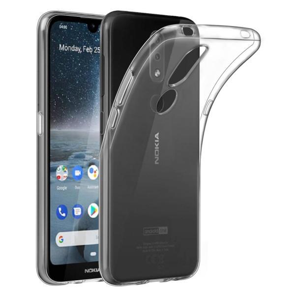 Чехол прозрачный силиконовый для Nokia 4.2