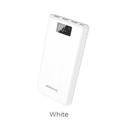 Портативный аккумулятор Borofone BT2D 30000 mAh белый