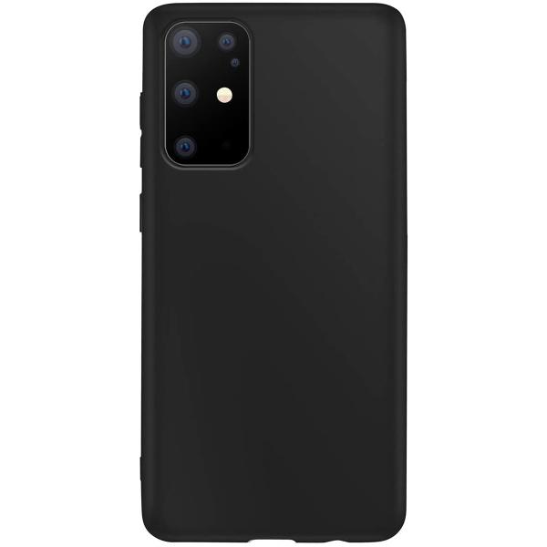 Чехол силиконовый для Samsung Galaxy S20 Ultra матовый черный