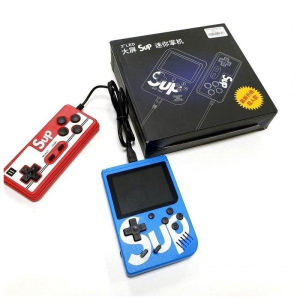 Портативная игровая приставка SUP GAME BOX PLUS 400 в 1 с джойстиком