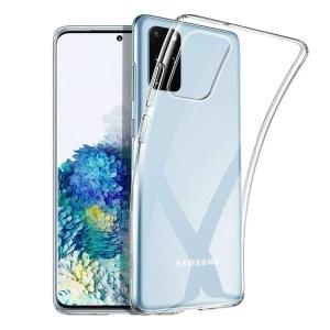 Чехол прозрачный силиконовый для Samsung Galaxy S20 Plus