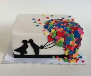 Torte-Luftballon