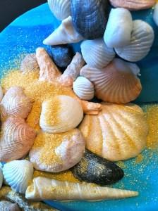 Torte-Muscheln-Meer