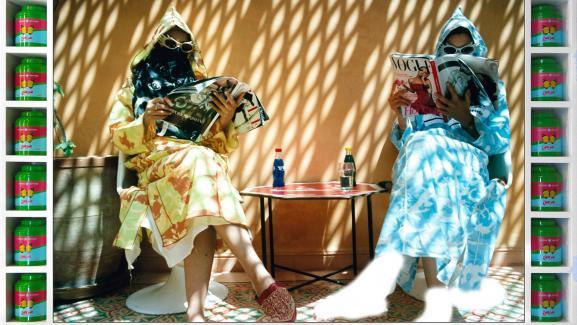 """Hassan Hajjaj, \""""Time Out\"""", de la série \""""Vogue : The Arab Issue\"""""""