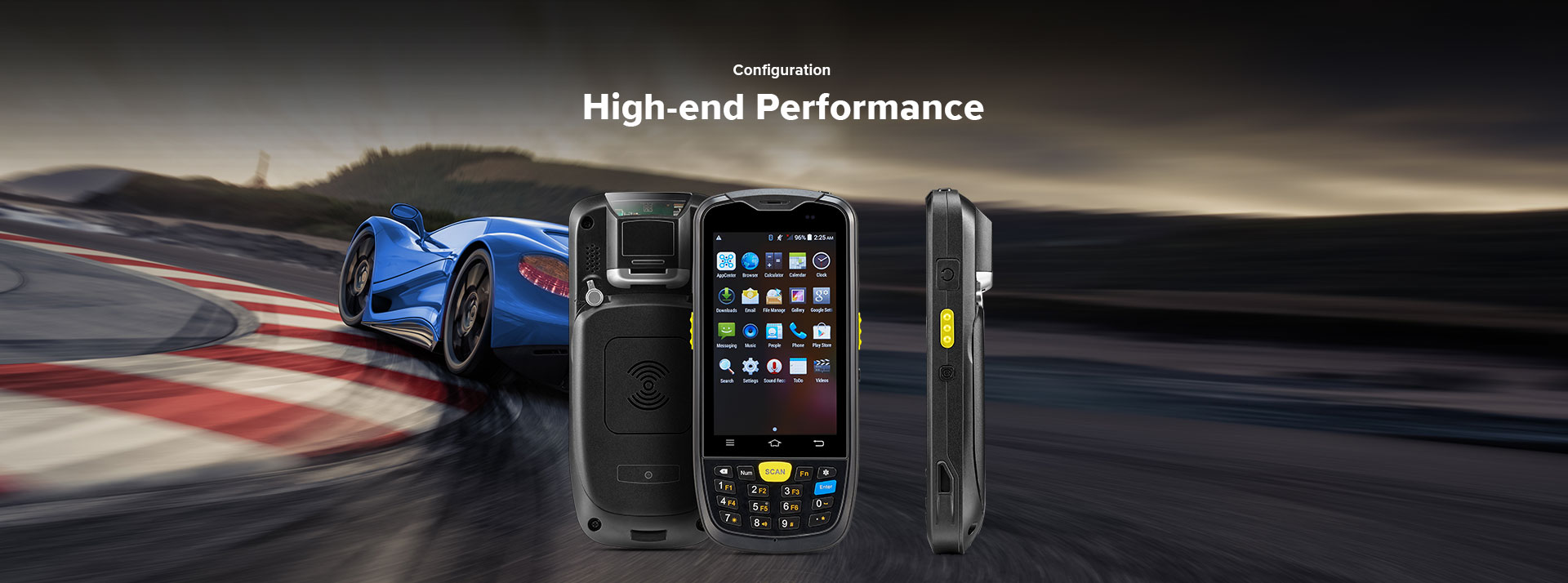 C6000 Rugged Handheld Computer Android - high performance