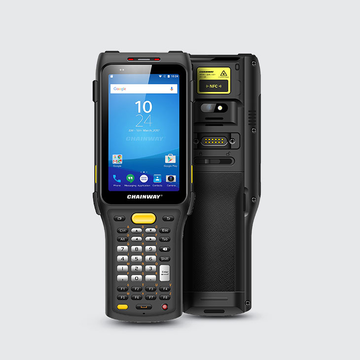 C61-Android Rugged Mobile Computer Keypad data-entry - Vista