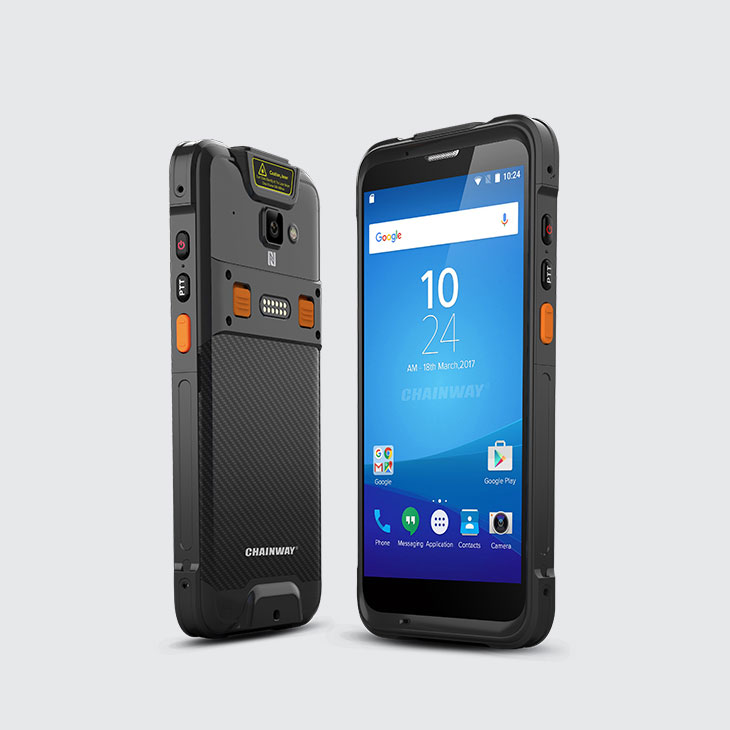 C66 - Android Rugged Mobile Computer by RFID-Global - Viste