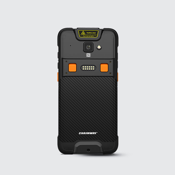 C66 - Android Rugged Mobile Computer - vista retro