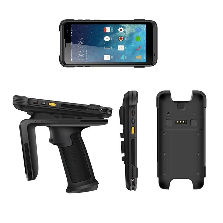 C66 Android Rugged Mobile Computer and R6 RFID UHF Sled Reader by RFID-Global