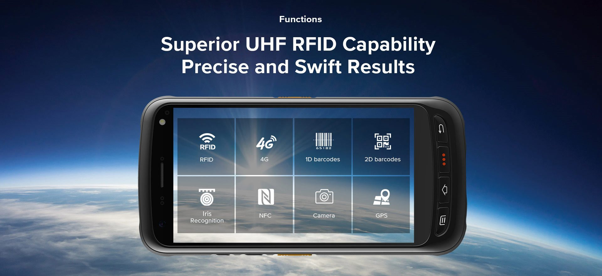 C71 - Android Industrial Mobile Computer RFID UHF - precisione