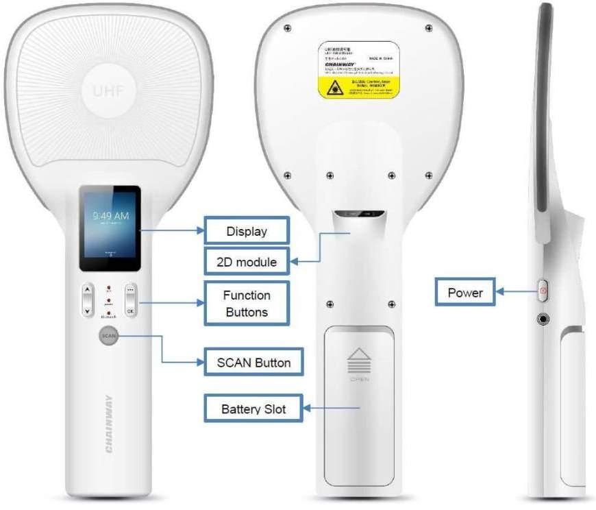 R2 - RFID UHF Swing Bluetooth Data Collection - explain