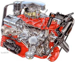 350 Small Block Chevy Engine Diagram   Wiring Library