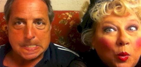 Jon Lovitz and Victoria Jackson