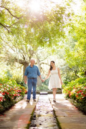 A romantic stroll through Bellingrath Gardens