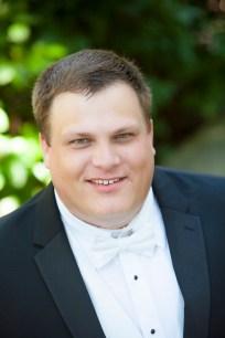 A charming groom