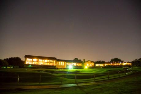 The night sky over Las Colinas Country Club