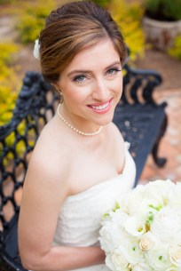 Timeless bridal portrait