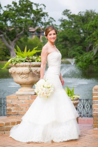 Bridal portrait at Marriott Grand Hotel
