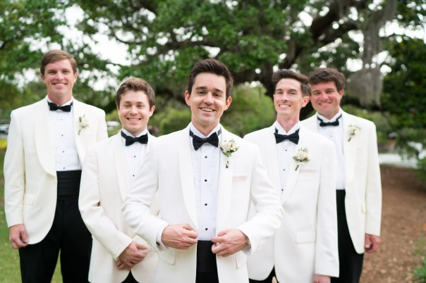 Groom and his groomsmen at Marriott Grand Hotel