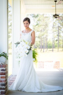 Beautiful Blackwater Farms bridal portrait