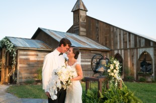 Just after the ceremony at Blackwater Farms Chapel