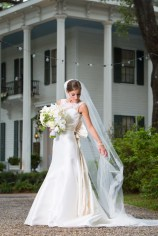 Beautiful Bragg-Mitchell Mansion bride