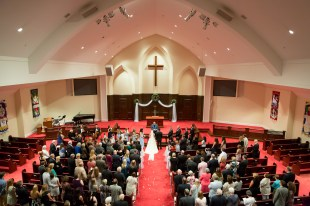 Wedding at Christ Anglican Church