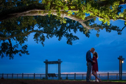 Down on one knee at the Grand Hotel Marriott in Point Clear, Alabama