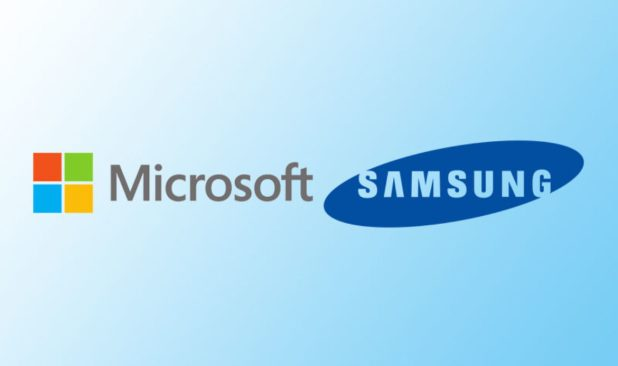 microsoft and samsung-top