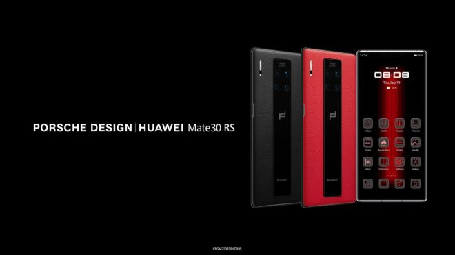 Huawei Mate 30 RS Porsche Design_top-1