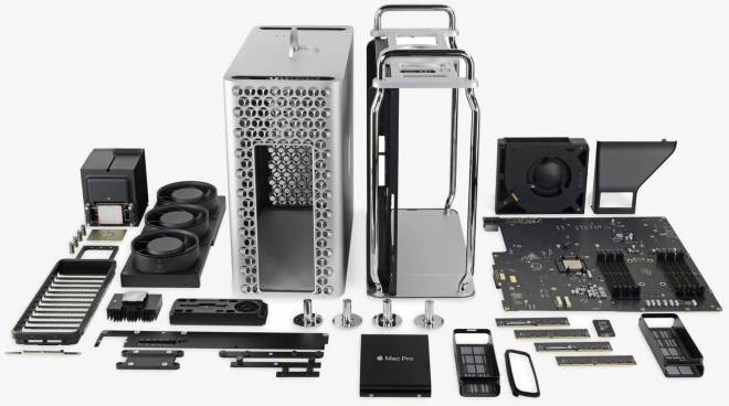 iFixit Tear Down, Apple Mac Pro 2019
