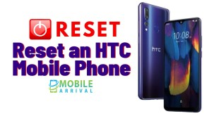 Reset an HTC Mobile Phone