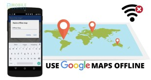 Use Google Maps without an Internet Connection