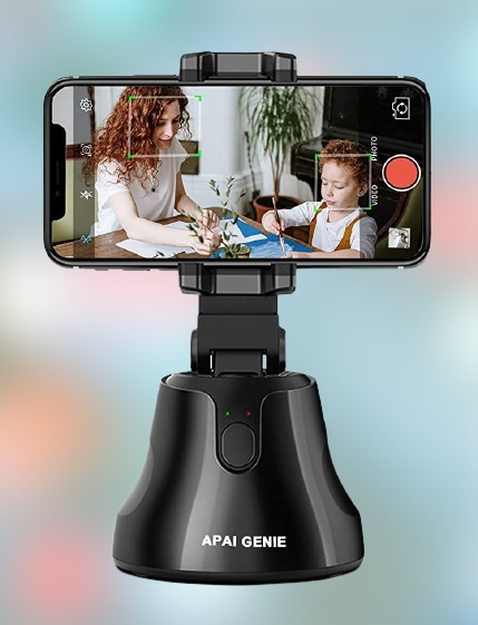 360° Rotates Portable All-in-one Smart Selfie Stick