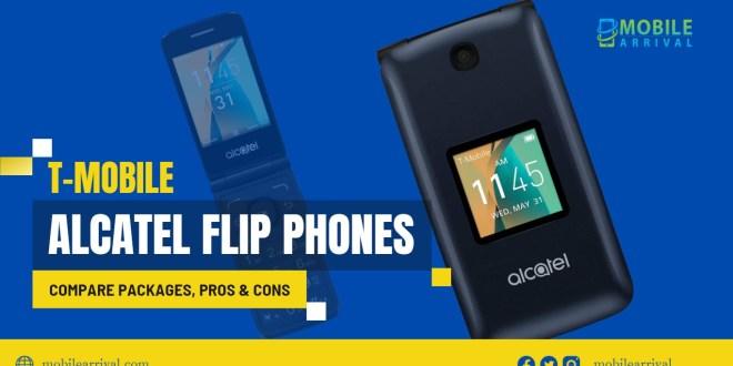 Alcatel T-Mobile Flip Phones