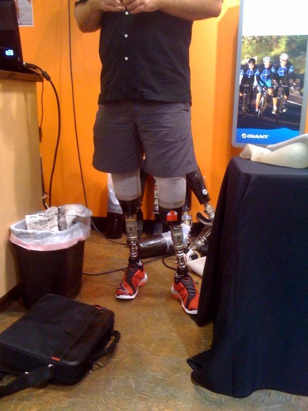 Scott Rigsby, prosthetics, UnThinkable