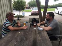 Bryan interviewing the fine folks at Fairhope Brewing Company