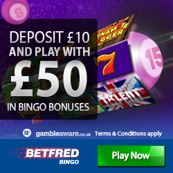 betfred bingo new bonus