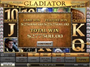 Gladiator Mobile Slots at betfred