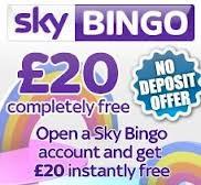 Sky Bingo No Deposit Bonus