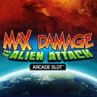 Max Damage and The Alien Attack Slot AT DAZZLE CASINO