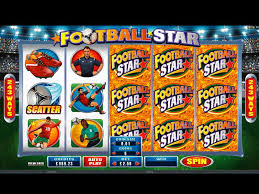 FOOTBALL STAR SLOT AT DAZZLE CASINO