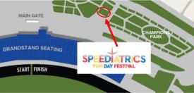 Speeday map zoom